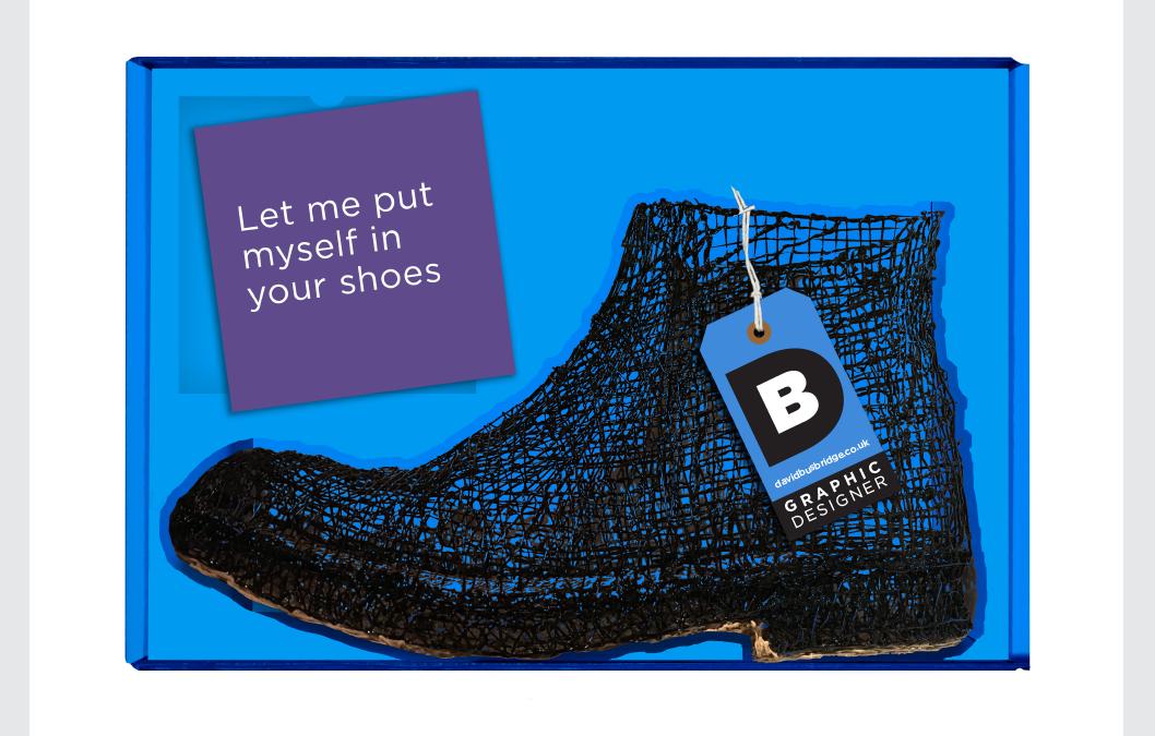 Self Promotional Shoe Campaign