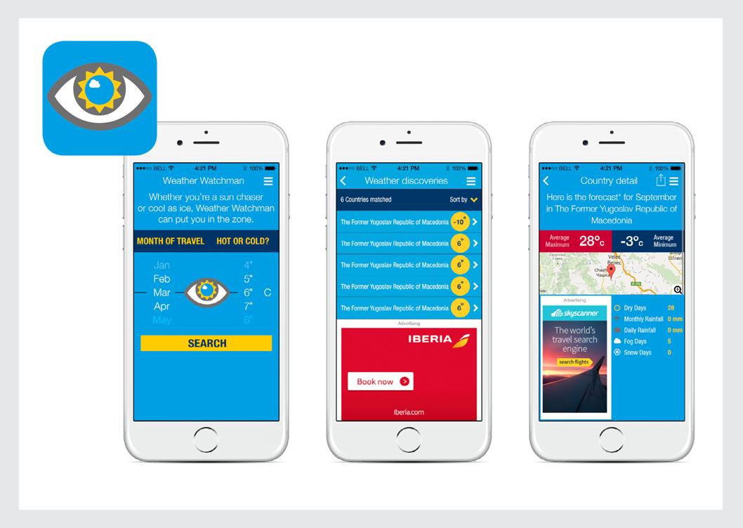 Weather Watchman Mobile App