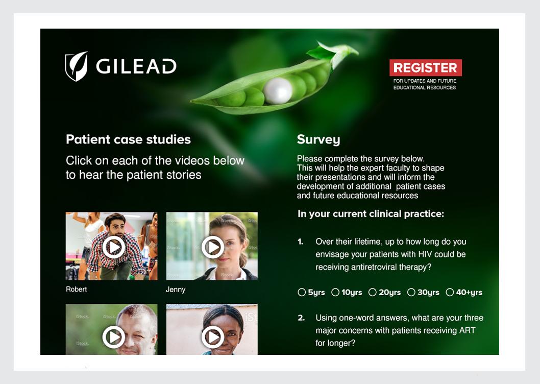 Gilead Delegate Survey